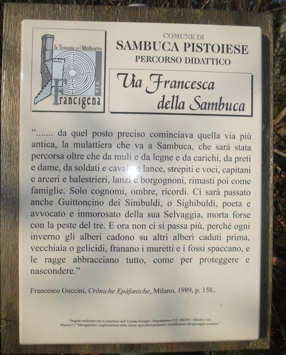 Percorso didattico sulla Via Francesca della sambuca