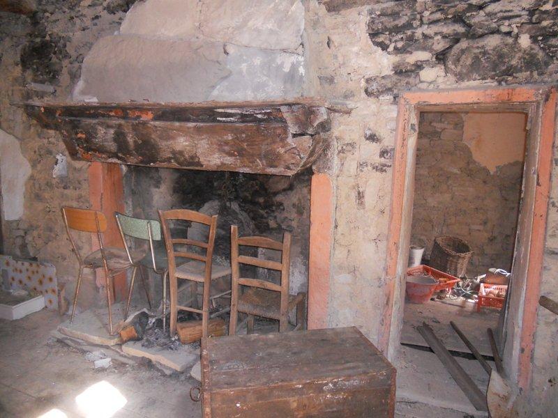 Interno di una casa a Chiapporato