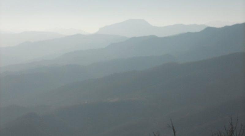 I crinali a SUD visti da Monte Sole
