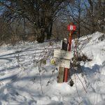 Camminata sulla neve per la  Via degli Dei