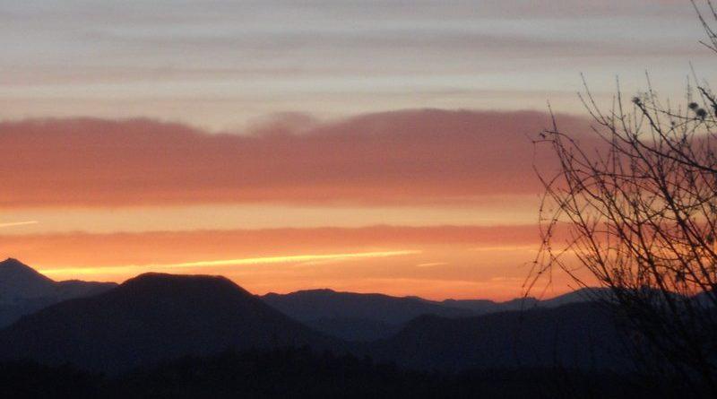 Uno spettacolare tramonto