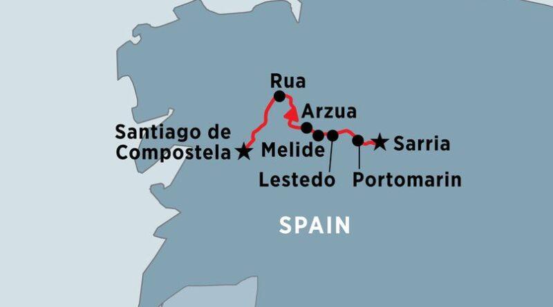 Il cammino da Sarria in 8 o 10 tappe